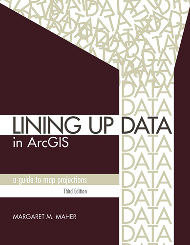 View of Review of Lining up Data in ArcGIS: A Guide to Map