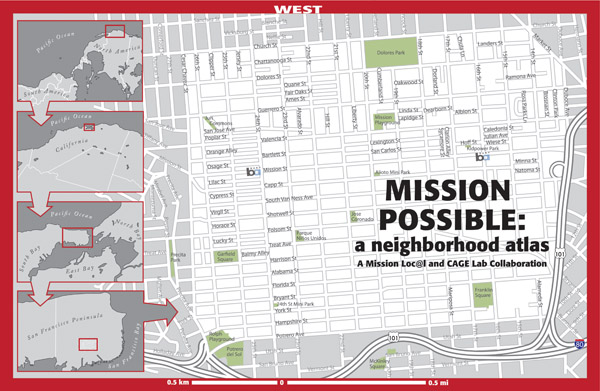 Figure 1. Mission Possible: A Neighborhood Atlas (2012), title page (missionpossiblesf.org).