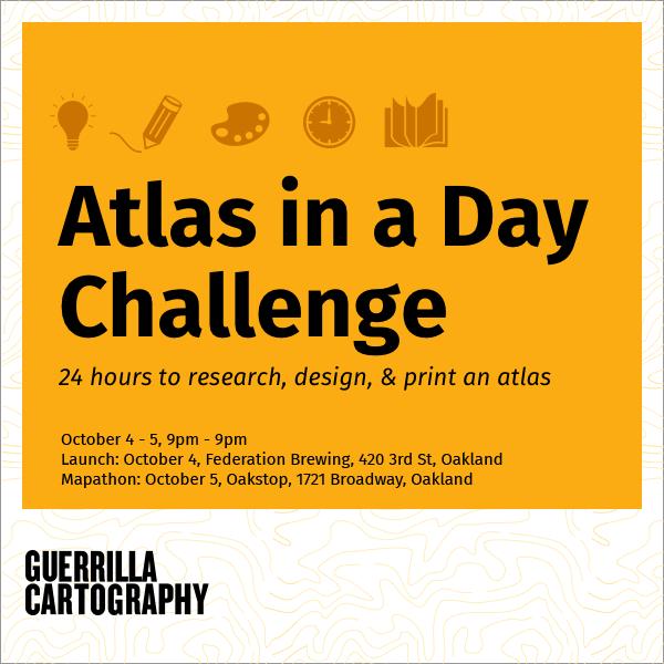 Pre-challenge publicity poster.