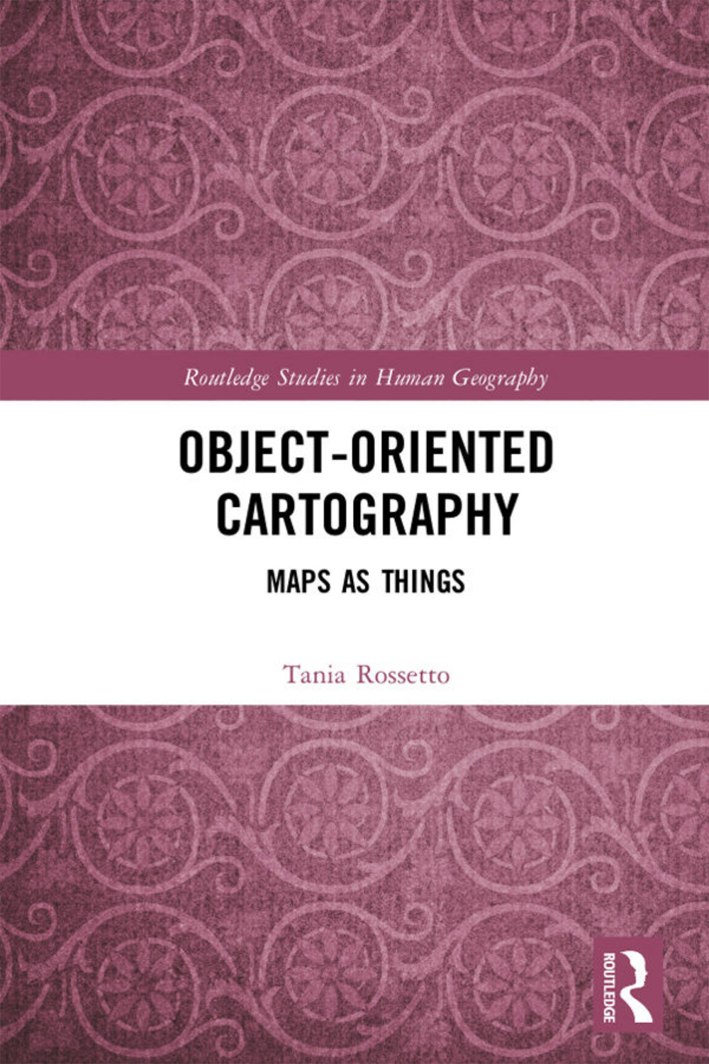 Object-Oriented Cartography: Maps as Things