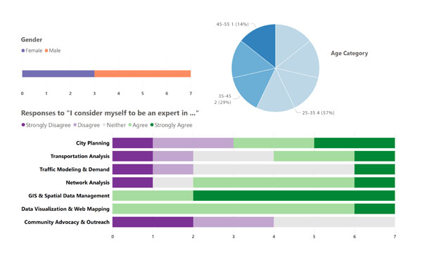 Figure 6. Visual summary of participants' demographic and professional backgrounds.