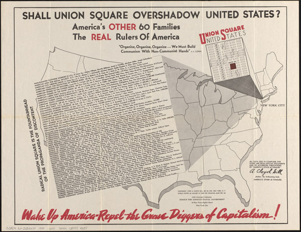 A. Cloyd Gill, America's Other 60 Families: The Real Rulers of America (League for Constitutional Government, 1939).