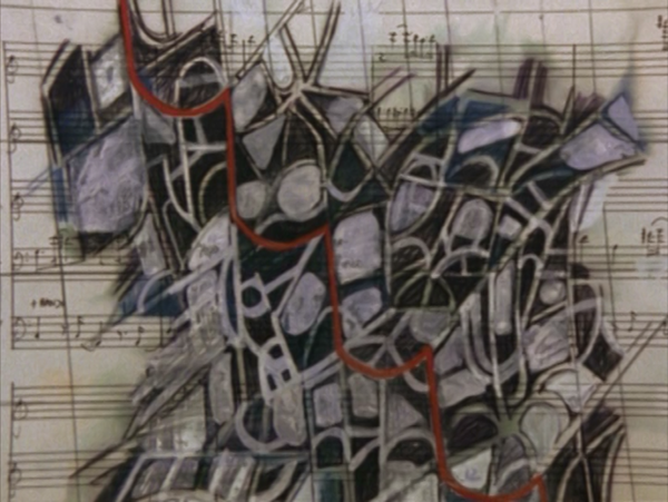 Figure 8. Peter Greenaway. 1978. Map 17 detail. A map made by an exiled pianist.