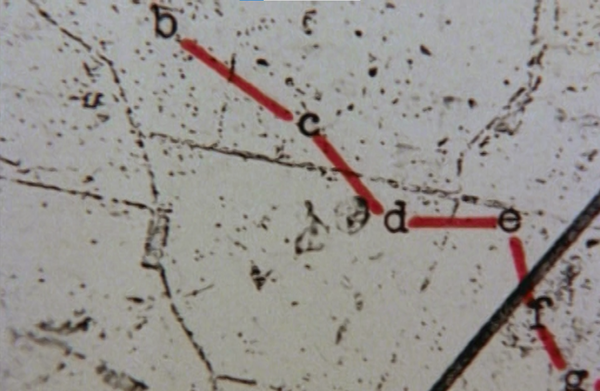 Figure 9. Peter Greenaway. 1978. Map 64 detail. This map was not especially clear.