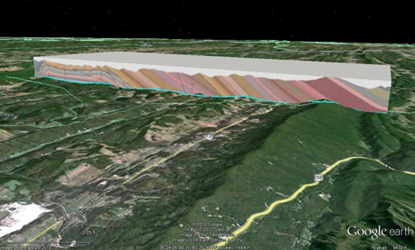 View of Techniques in Google Earth and Google Maps