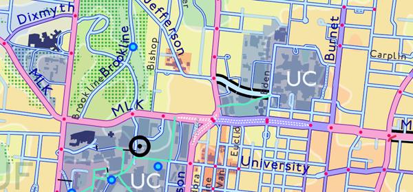 Figure 12B. University (blue).