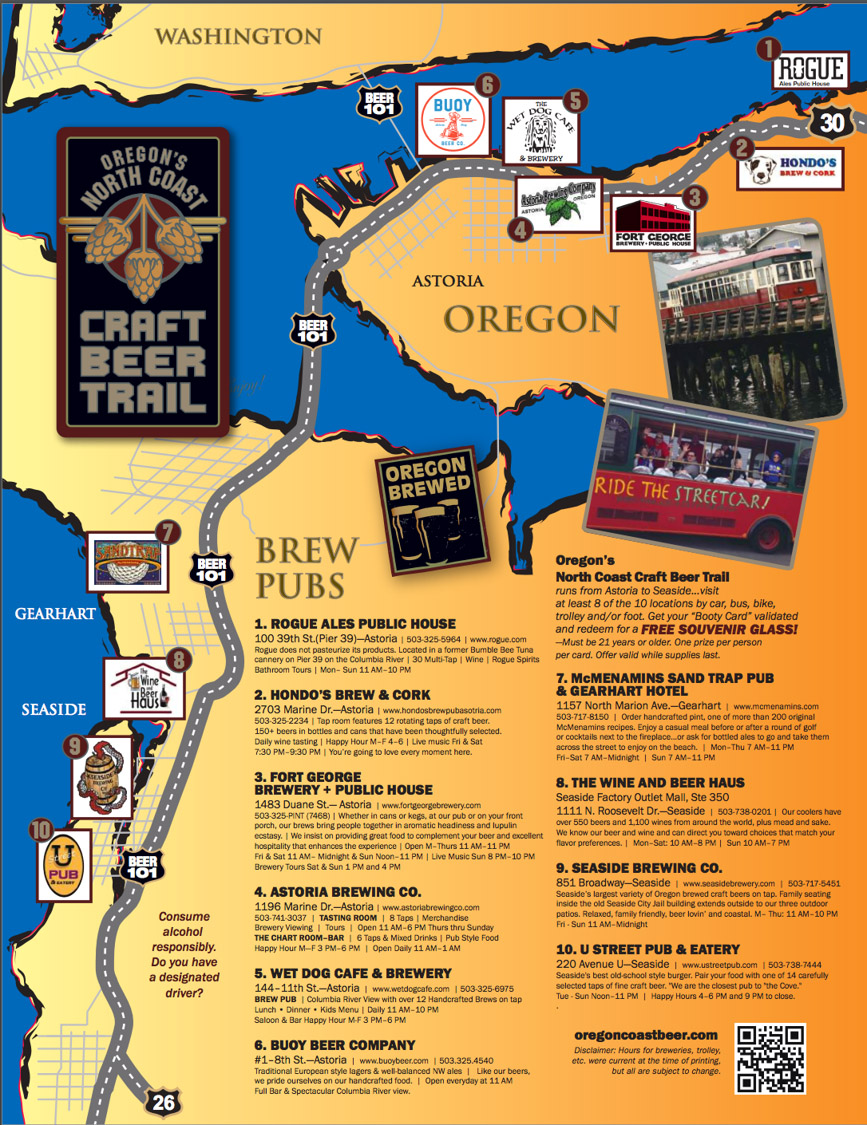 View of Beer-trail maps and the growth of experiential